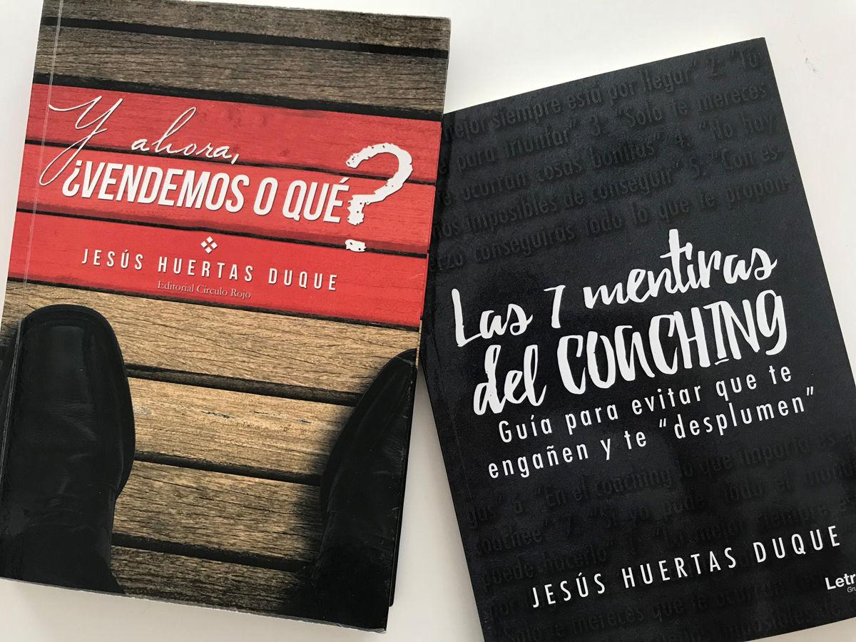 Pack 2 Libros: Y ahora ¿vendemos o que? + Las 7 mentiras del coaching